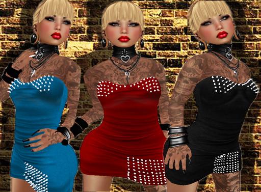 *P.c* Daiane Rock DressV1,1